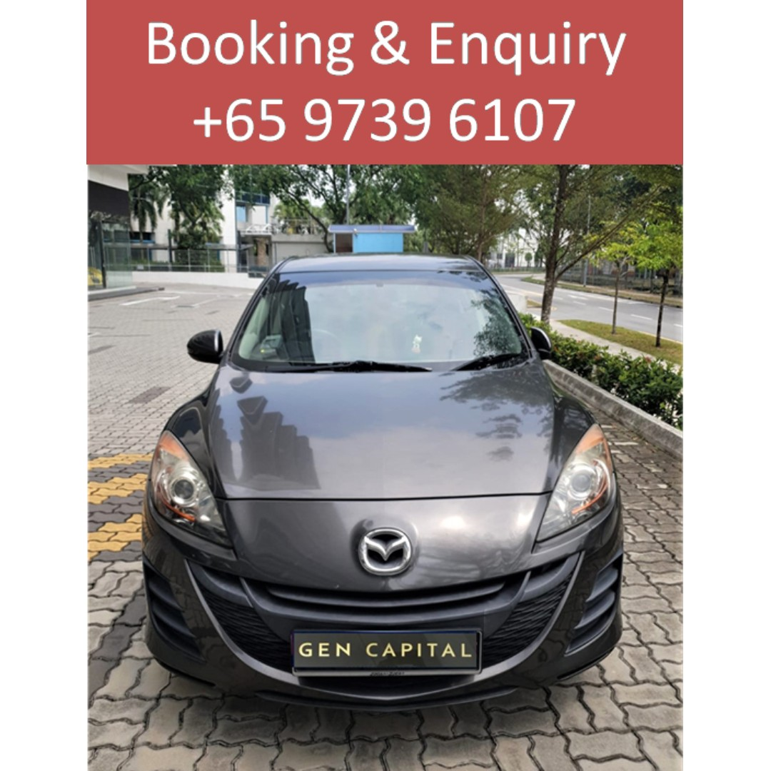 Mazda 3 1.6A - Many ranges of car to choose from, with very reliable rates!!