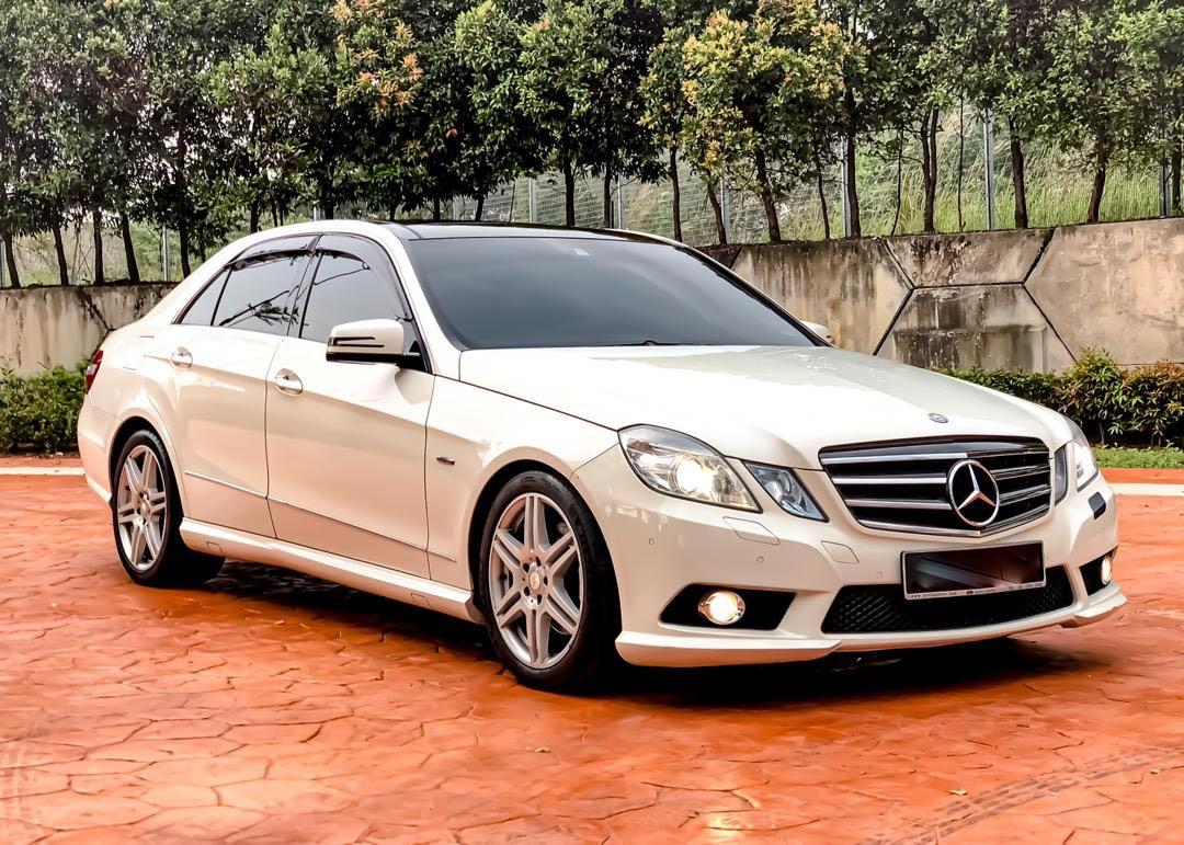 MERCEDES BENZ E250 1.8 TURBO FULL SPEC (A) SEWABELI BERDEPOSIT
