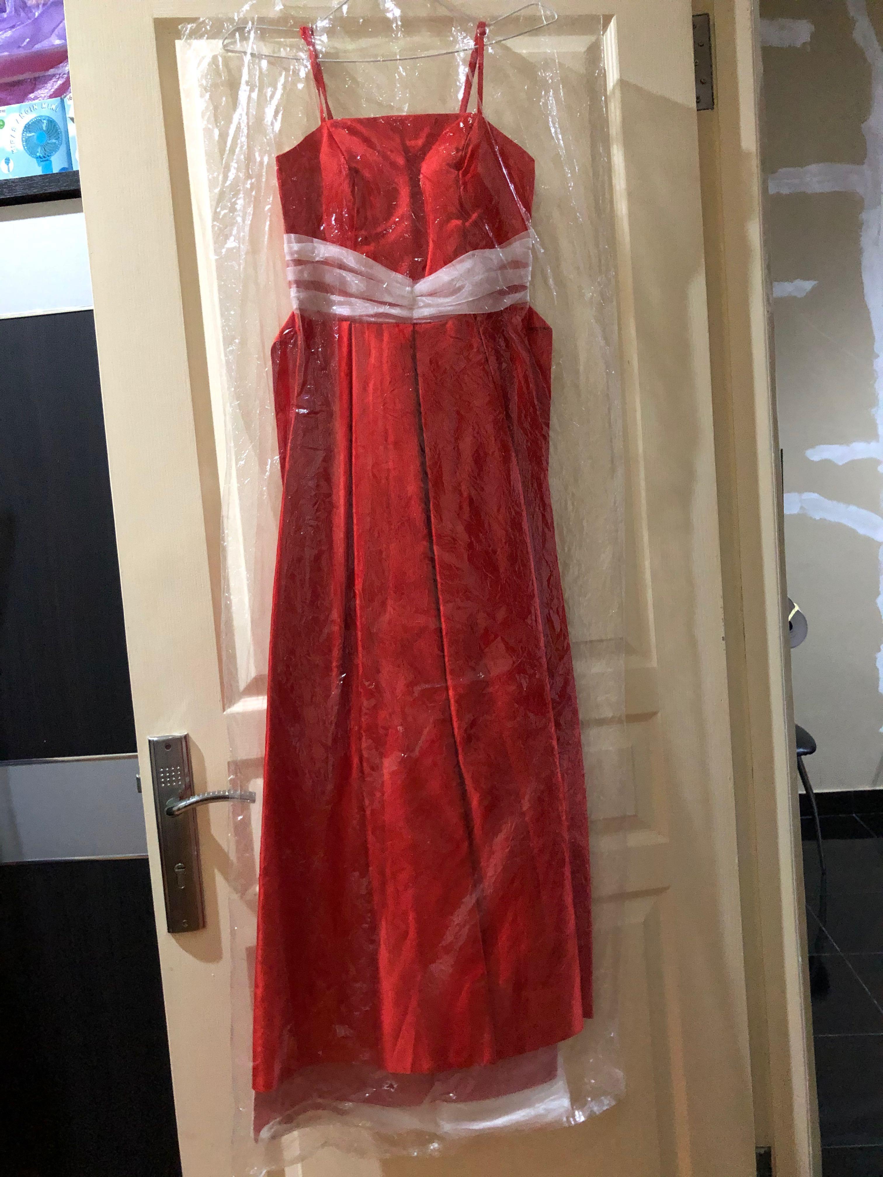 Mididress long dress red