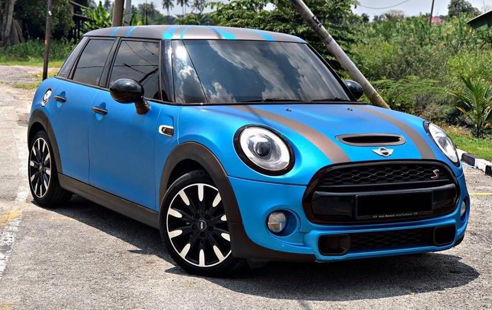 MINI COOPER S 2.0 (A) F55 LATEST FACELIFT 2016 SAMBUNG BAYAR