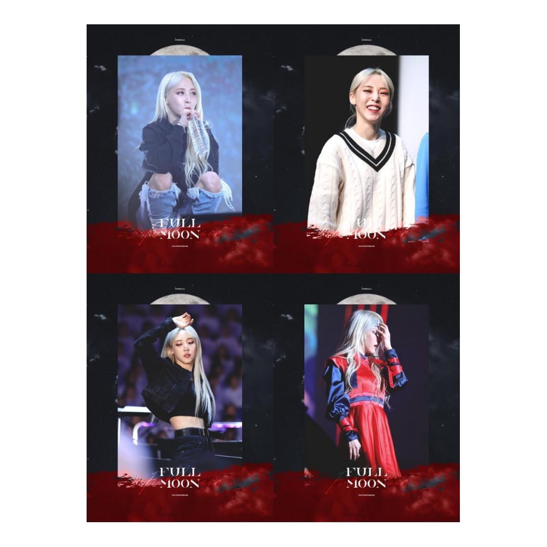 MOONBYUL - 2020 ESTRELLA Season's greeting 'Full Moon' [25/10]