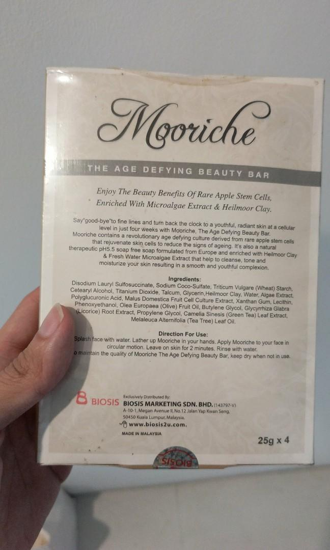 Mooriche beauty bar 5 pcs in a box