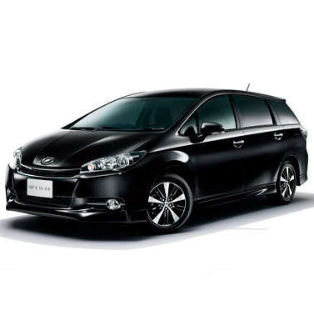 MPV rental for as low as S$80.00 day FREE delivery option