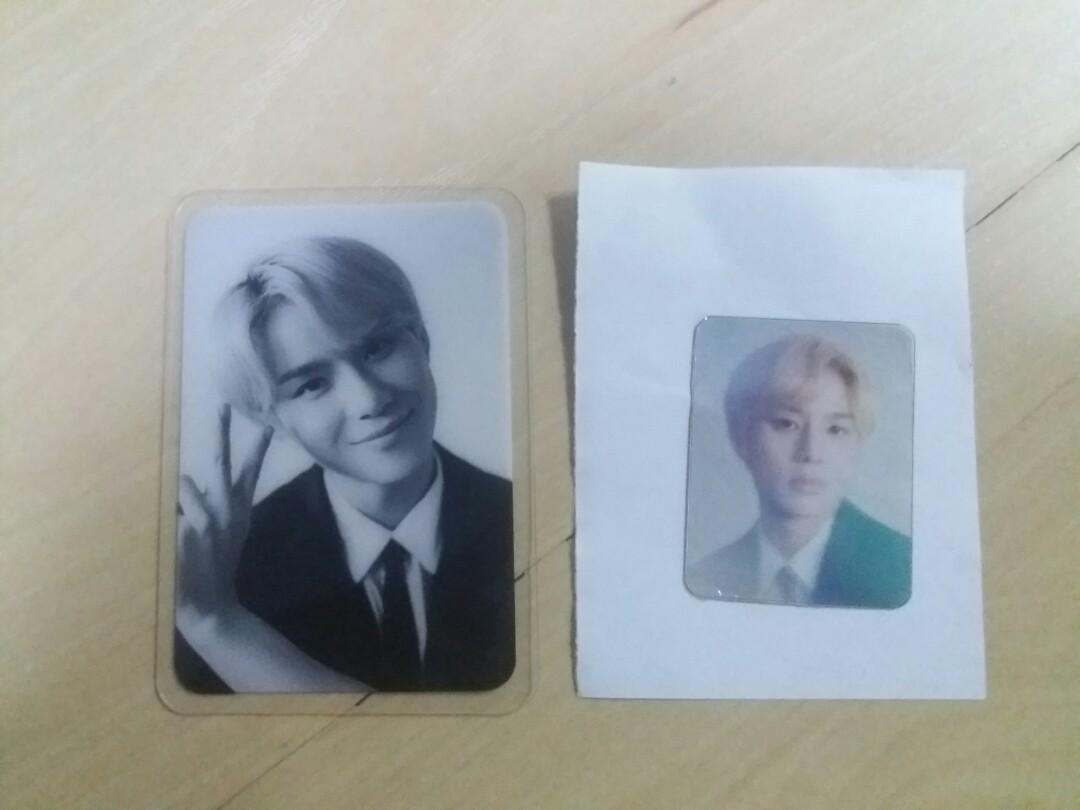 NCT 127 DICON MAGAZINE JUNGWOO PHOTOCARD + STICKER