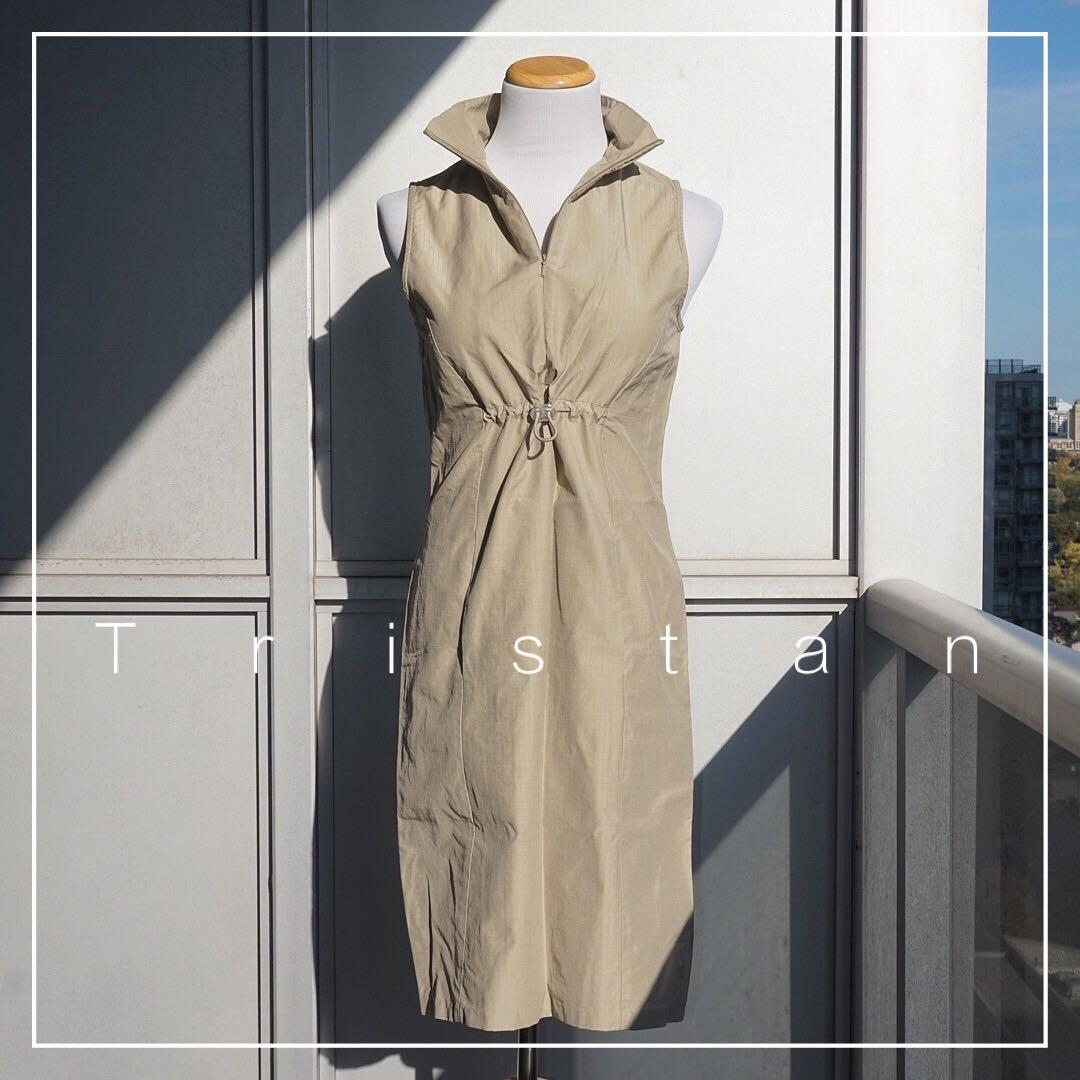 *Perfect Condition* Tristan half-zip Dress with drawstring Waist Women Size 4