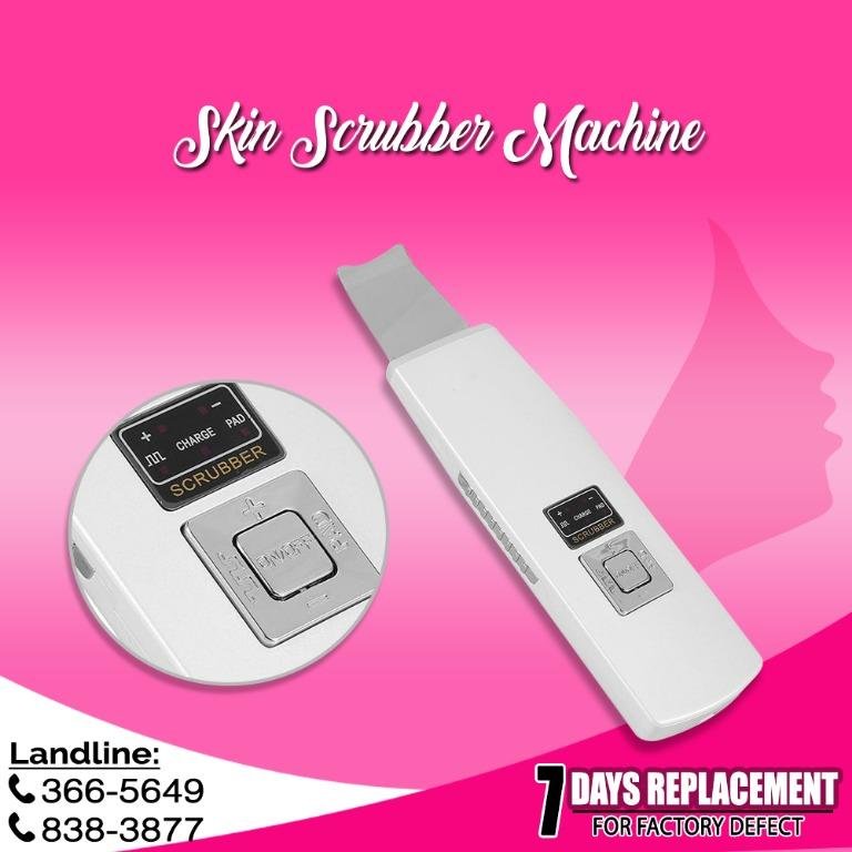 Portable Skin Scrubber for Cleansing and and Lifting Blackhead and Whiteheads Removal facial machine
