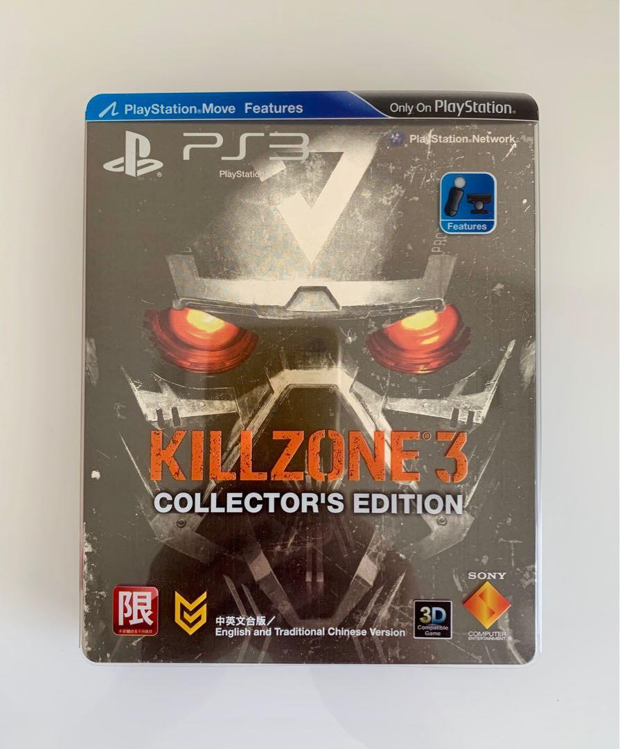 PS3 game. Killzone 3 collectors edition