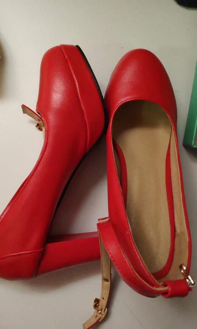Red Heels size 39 cheap, Women's