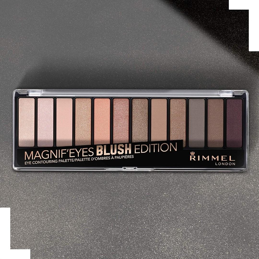Rimmel magnif'eyes eyeshadow palette blush edition