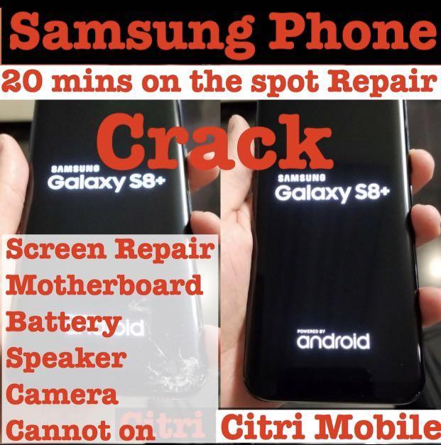 Samsung S8 S9 S10 Note 5 8 9 Screen LCD Battery Repair