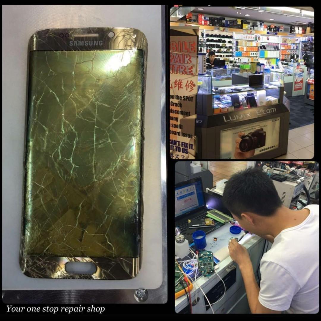 Samsung S8+ S9 S10 S10e iPhone iPad Phone Repair Replacement