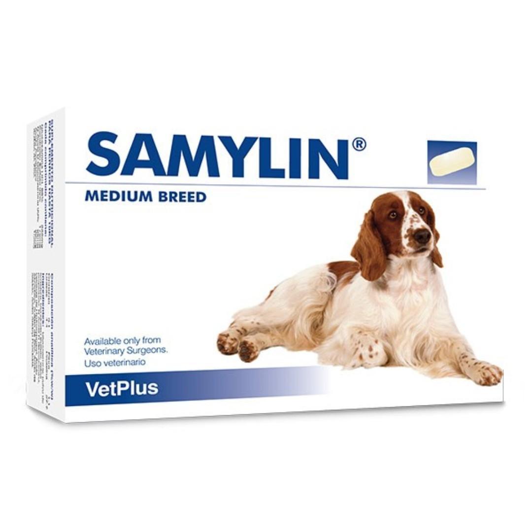 Vetplus Samylin Medium 中型犬 肝臟 補充丸 30粒