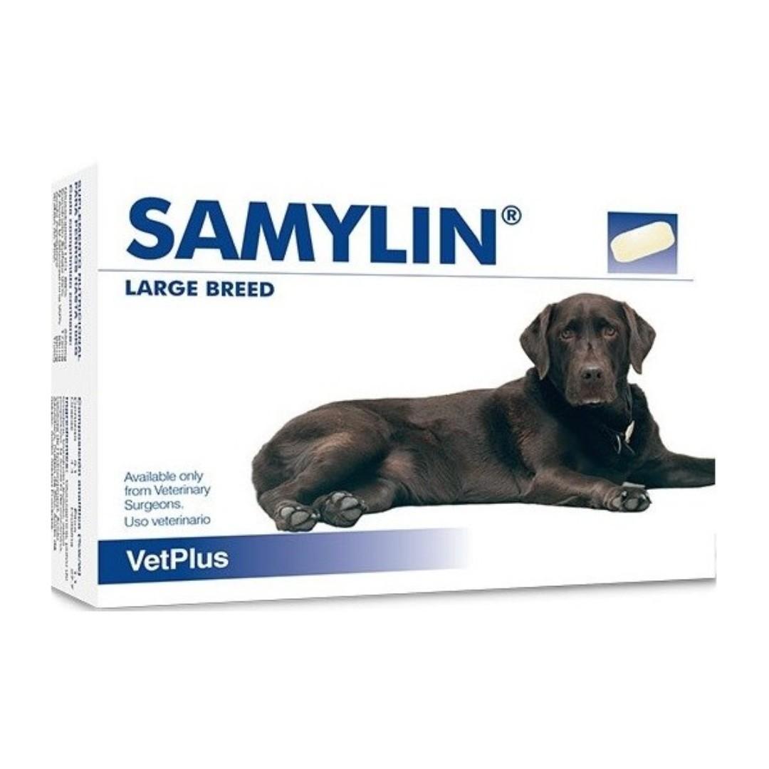 Vetplus Samylin Large 大型犬 肝臟補充丸 30粒