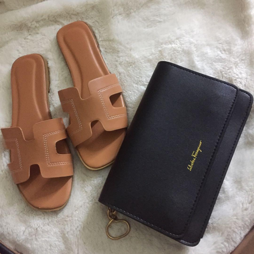 Set shoes and bag