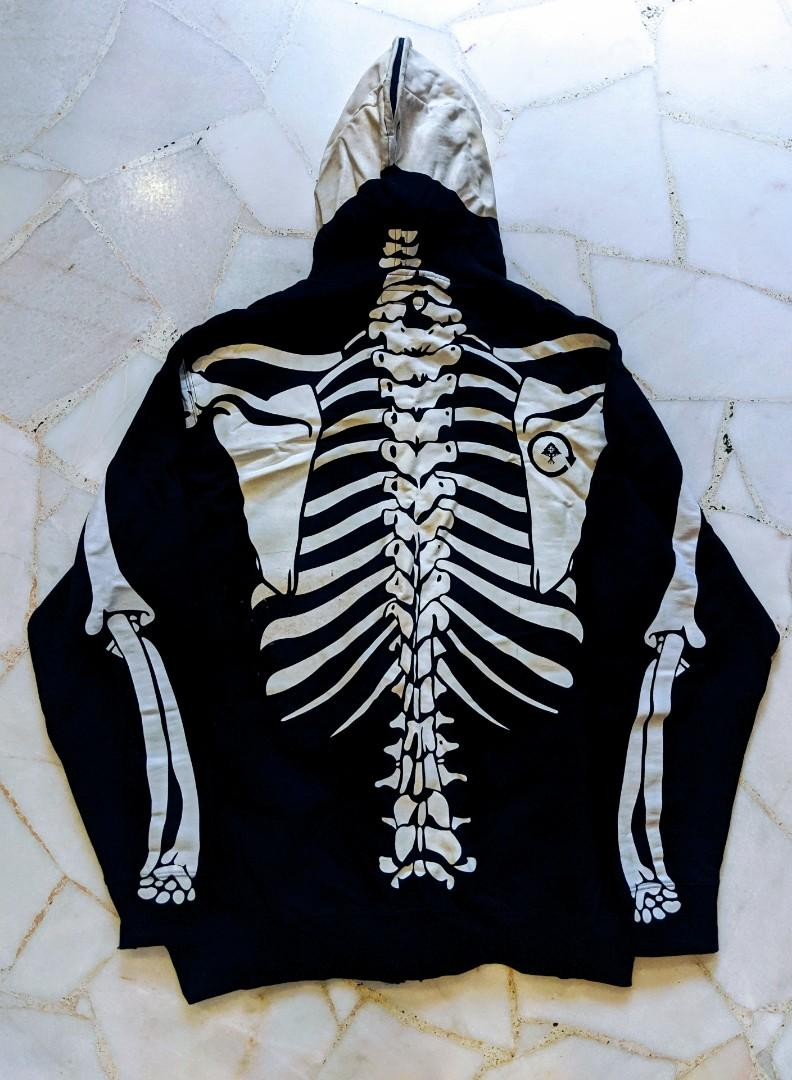 Lrg Dead Serious Skeleton Hoodie Men S Fashion Clothes Others