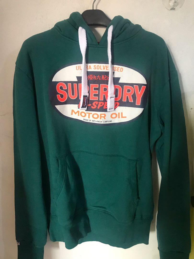 Superdry big logo hoodie