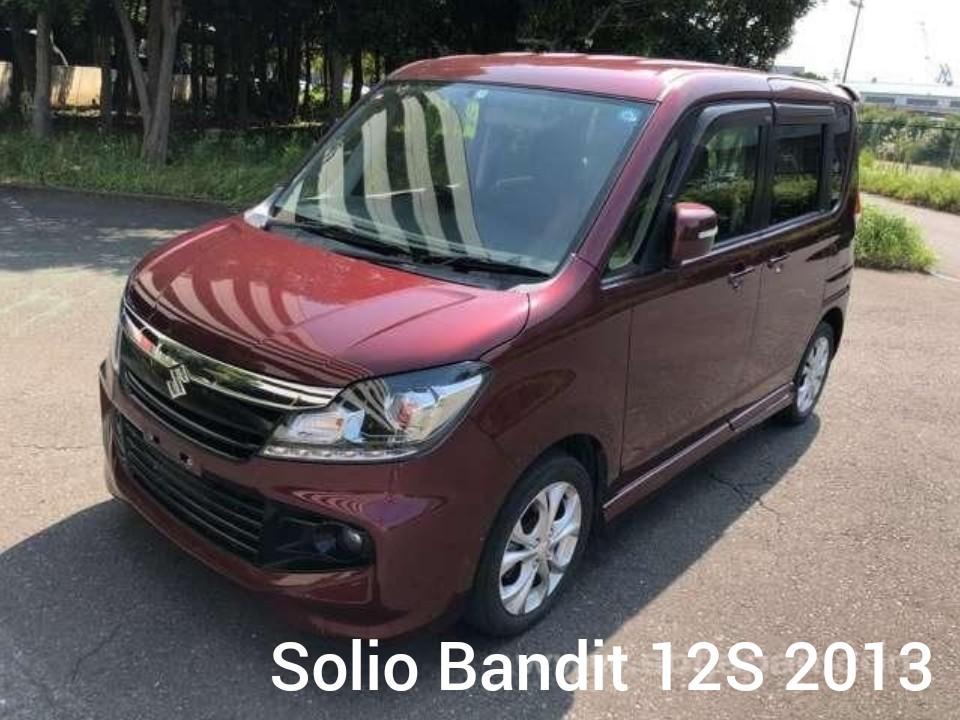 SUZUKI SOLIO BANDIT 12S 2013 LIMITED RED