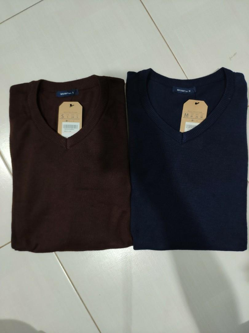 SWEATSHIRT NAVY & NAVY CHOCOLATE