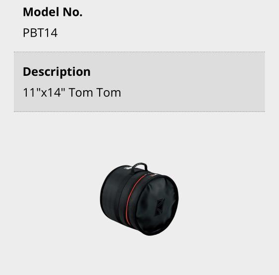 TAMA POWERPAD SERIES 鼓袋 各尺寸10,12,14,16,22 可單獨購買