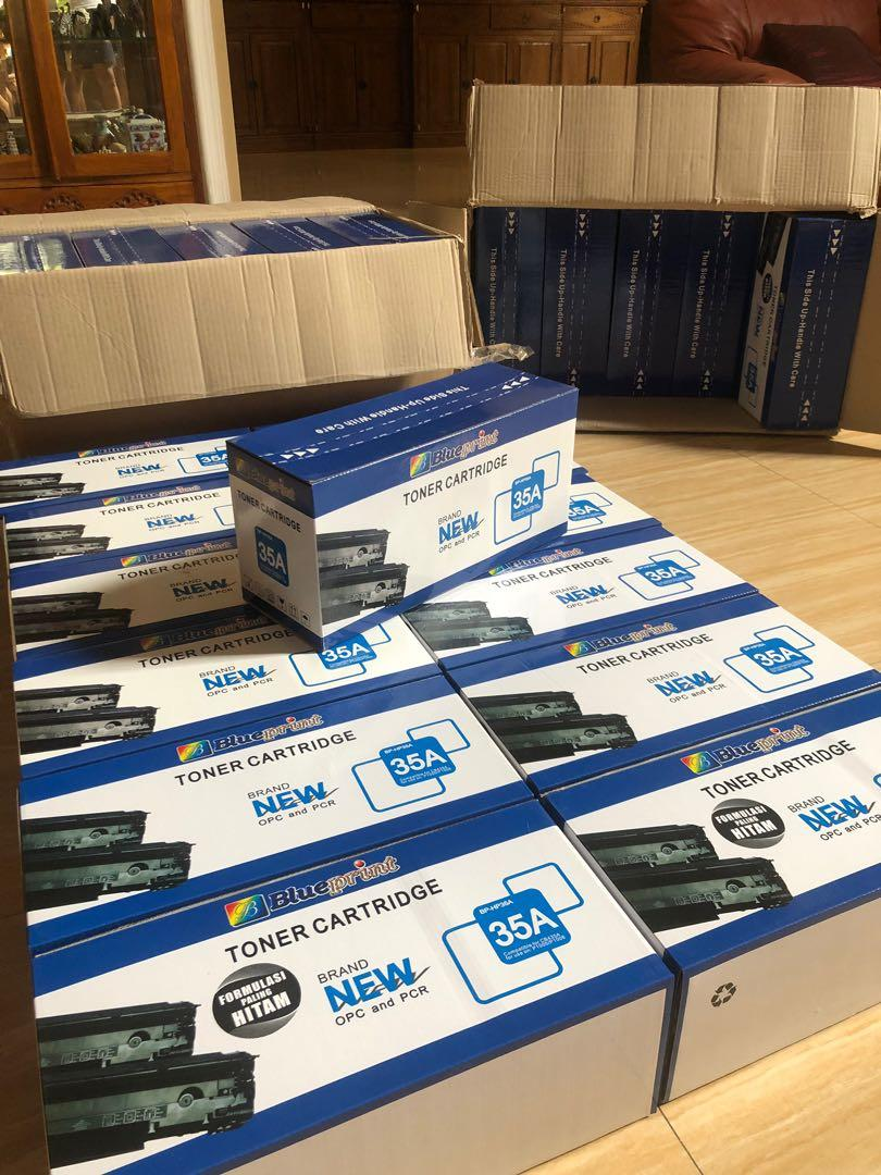 Toner catridge 35A blueprint( NEW) SALEE