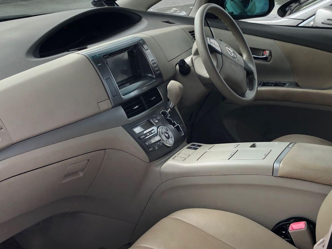 Toyota Estima Hybrid for Rent!