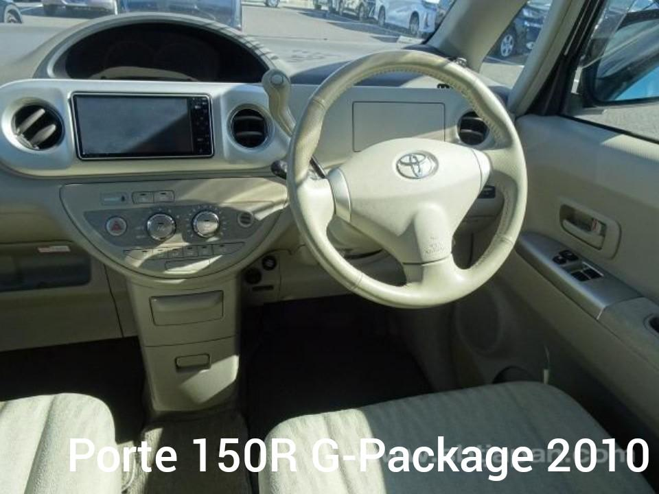 TOYOTA PORTE 150R G-Package 2010 PEARL