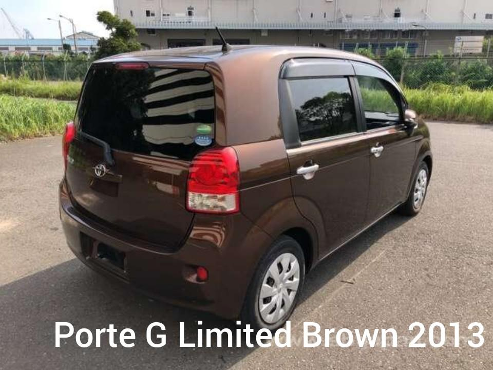 TOYOTA PORTE 1.5G LIMITED BROWN 2013