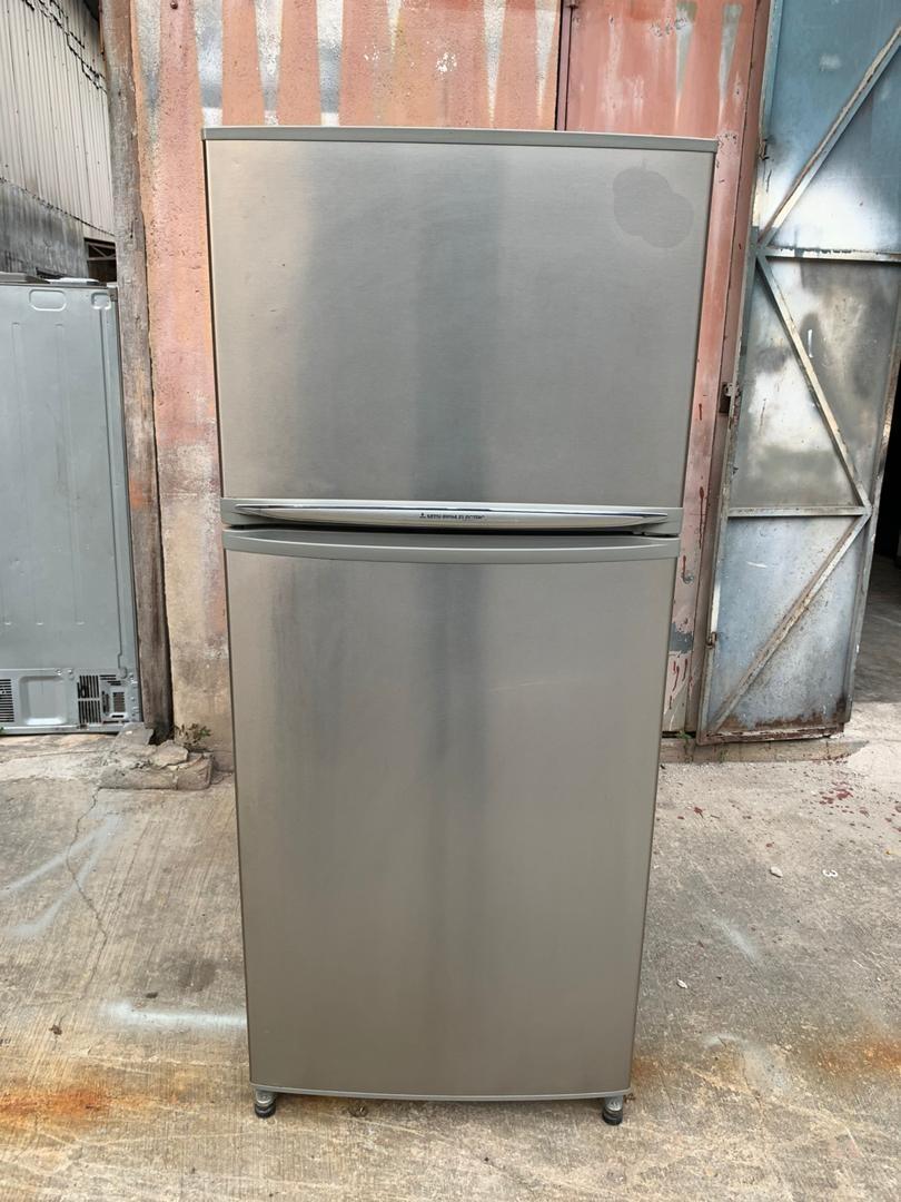 Used Mitsubishi 2 doors fridge refrigerator peti sejuk peti ais in good condition
