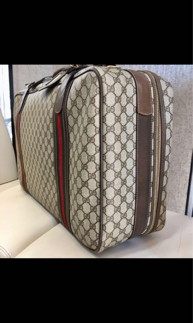 Vintage Gucci luggage bag