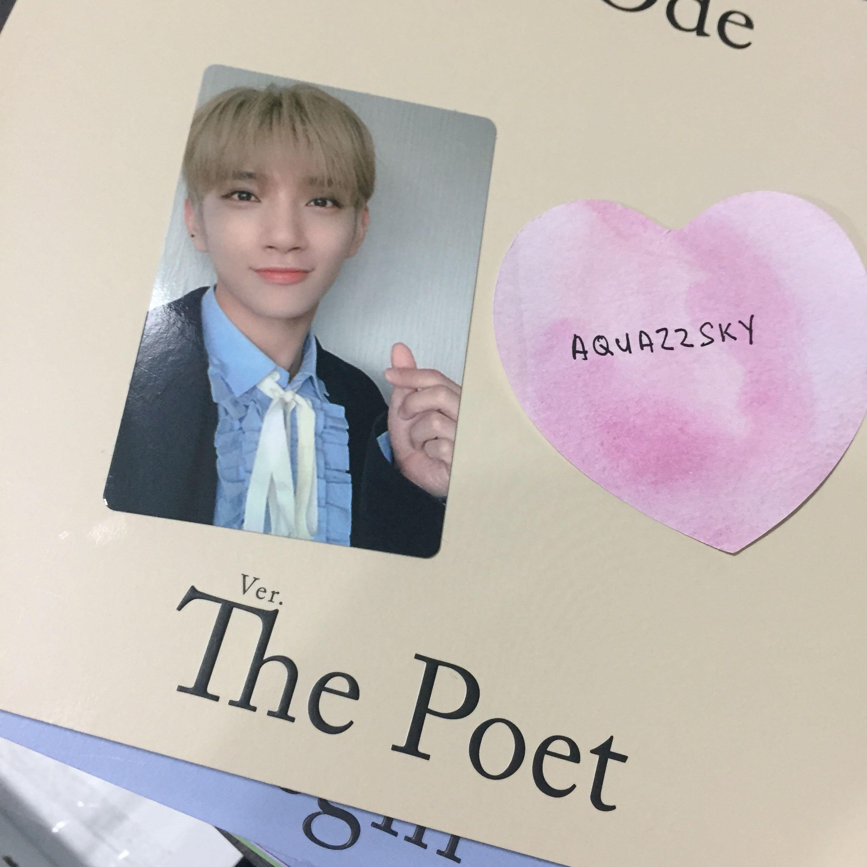 WTS WTT Seventeen An Ode The Poet Photocard Sticker