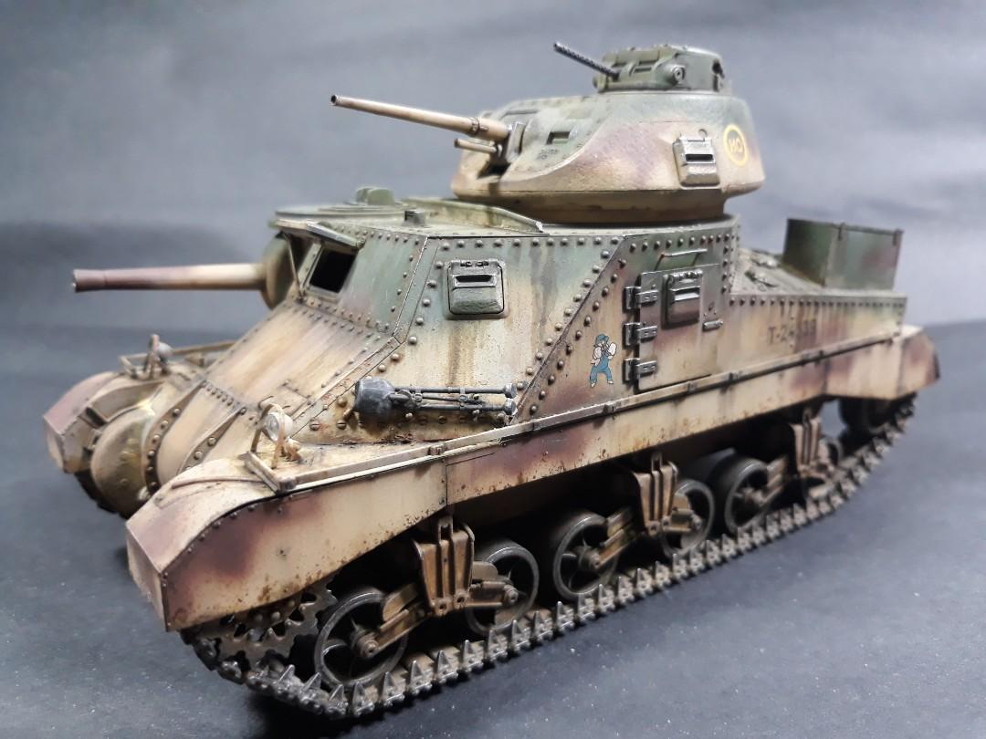 WW2  Trank M3 Grant 1/35