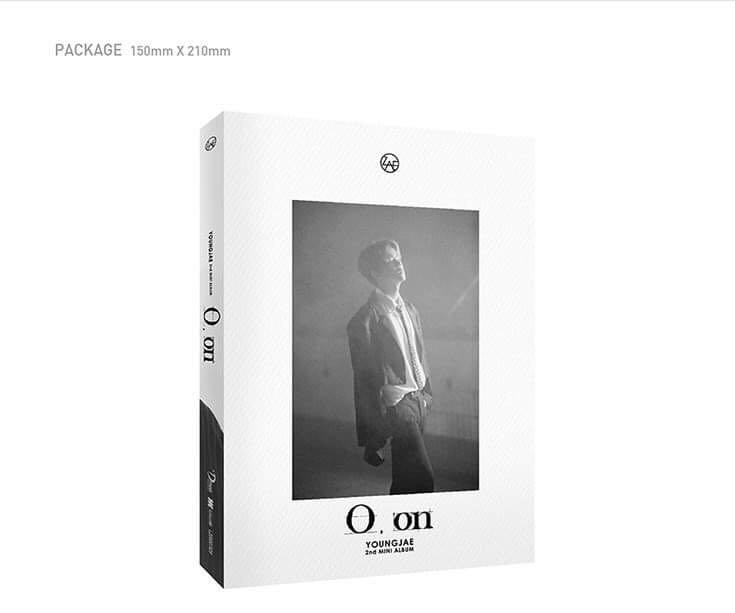 Young Jae - O,on - PREORDER/NORMAL ORDER/GROUP ORDER/GO + FREE GIFT BIAS PHOTOCARDS (1 ALBUM GET 1 SET PC, 1 SET GET 9 PC)