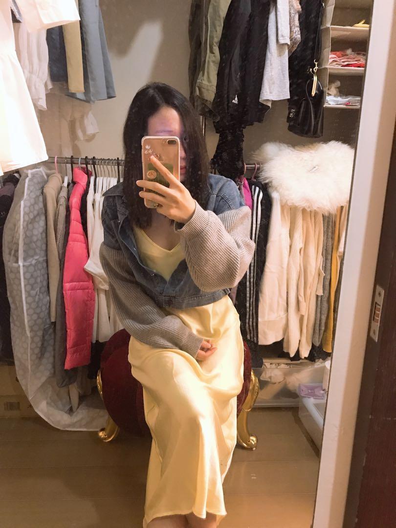 Zara 緞面好搭洋裝