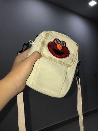 Sesame Street Sling Bag (Red 'Kaws')