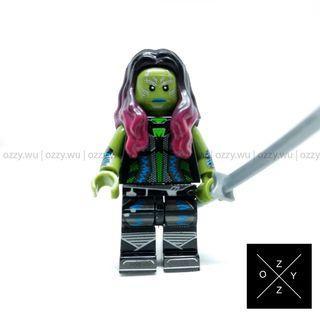 Lego Compatible Marvel Minifigures : Gamora