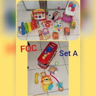 Bundle toys Vtech, FP, Leapfrog
