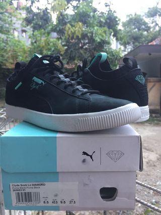Puma Clyde Sock Lo X Diamond Trainers (Sneakers Original Sepatu)