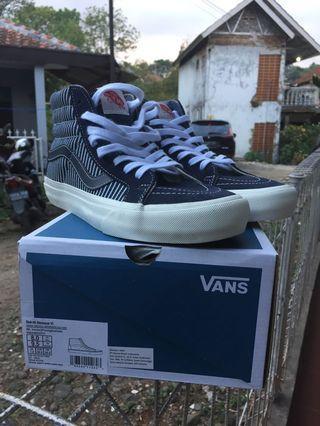 Vans Sk8 - Hi Reissue VI Sashiko (Sepatu Sneakers Original)