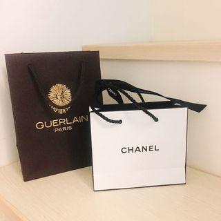香奈兒 +嬌蘭紙袋
