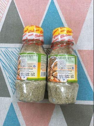 (兩瓶)檸檬胡椒鹽 80G