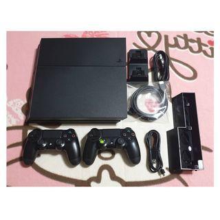 (雙手把免運費)PS4原廠三代黑色主機