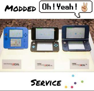 2DS AND 3DS MODDED SERVICE