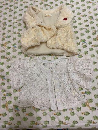 女童 洋裝罩衫 一律50元