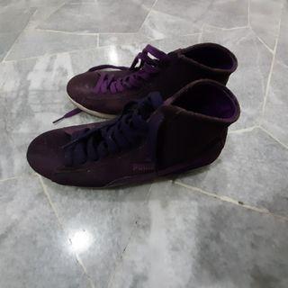 original Purple Puma ankle cut shoes