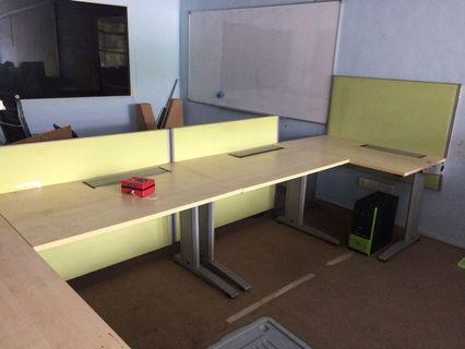 5 seater Office Workstation