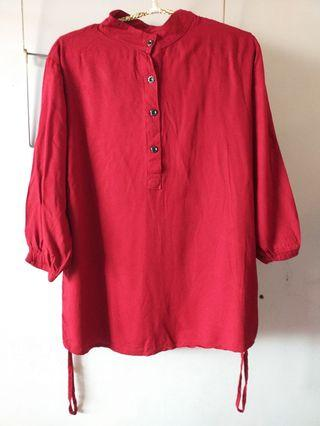Maroon  Blouse Size S