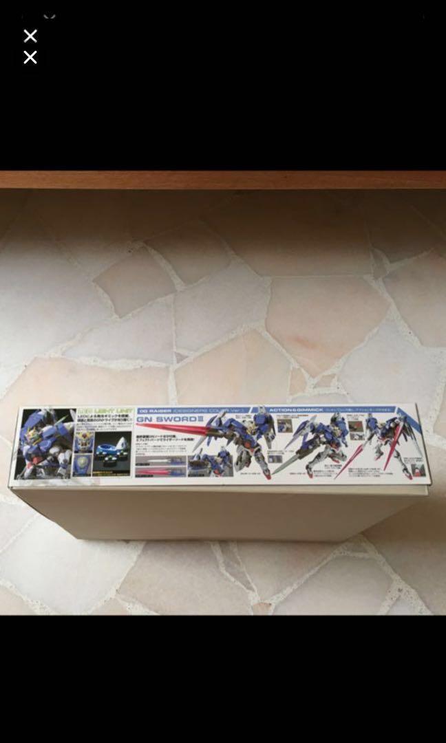 1/100 scale Gundam OO Raiser designer Color