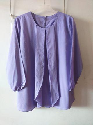 Purple Blouse Size M
