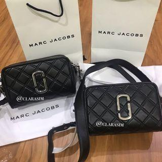 Auth Marc Jacobs Softshot Quilted Bag
