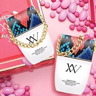 韓國 VN 防曬霜 鉑金包妝前隔離乳 保濕提亮防紫外線 張柏芝同款